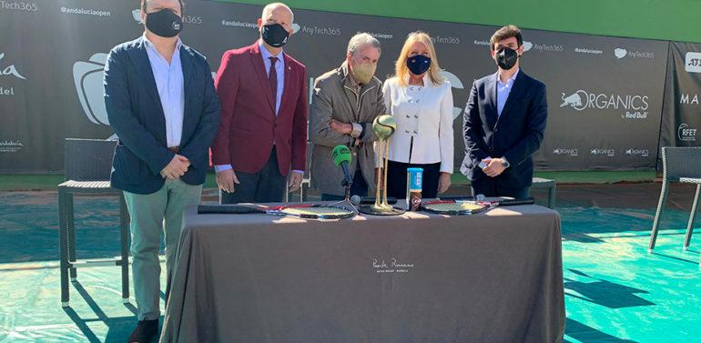Andalucía se posiciona en el circuito mundial de tenis con el primer torneo ATP 250 a celebrar en Marbella