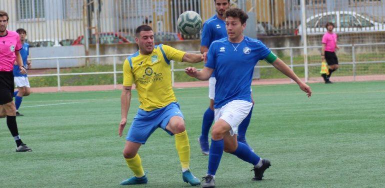 Primera derrota del Xerez B en la fase de ascenso (1-3)
