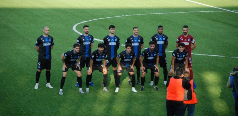 Galería fotográfica desde la grada del Estadio Ciudad de Lucena de la victoria del Xerez DFC (0-1)