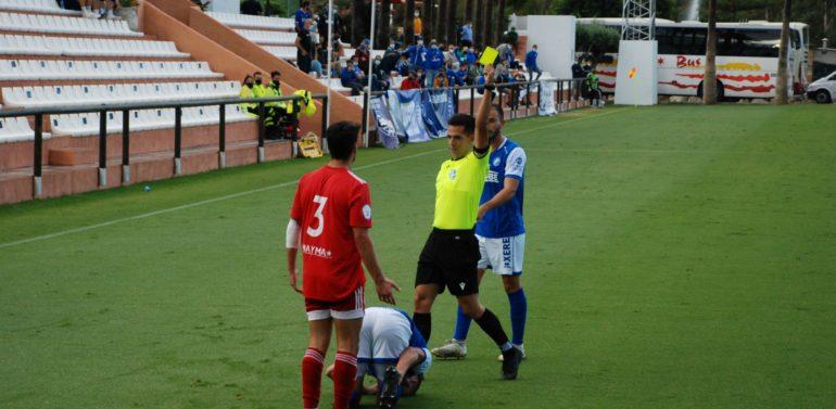 El colegiado malagueño que dirigió la semifinal de la Copa RFAF en Marbella arbitrará al Xerez DFC en Lucena