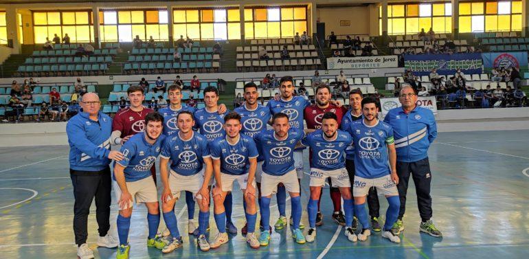 Xerez Toyota Nimauto 3-0 Torremolinos: Un hat-trick de Joselu representa la superioridad azulina