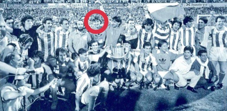 González, un 'txuri-urdin' campeón, en el Xerez DFC