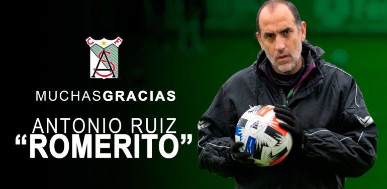El Atlético Sanluqueño cesa por sorpresa a Romerito