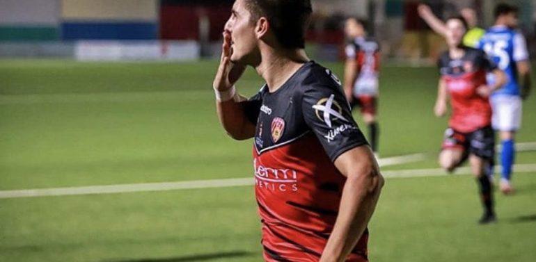 """Diego Canty, jugador del Salerm Puente Genil: """"El Xerez DFC es el mayor favorito"""""""