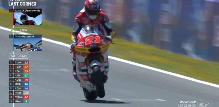 Doblete italiano en el podio de Moto2 en Jerez