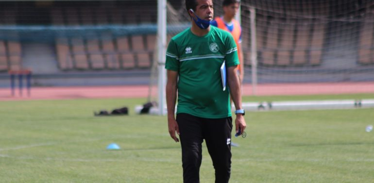 """Pérez Herrera, entrenador del Xerez DFC, busca certificar el objetivo lo antes posible: """"Somos conscientes de que mañana tenemos una gran oportunidad"""""""