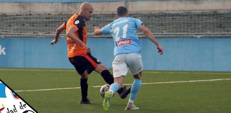 Un gol de Mario Ruiz le da la victoria al Ciudad de Lucena frente al Xerez CD SAD