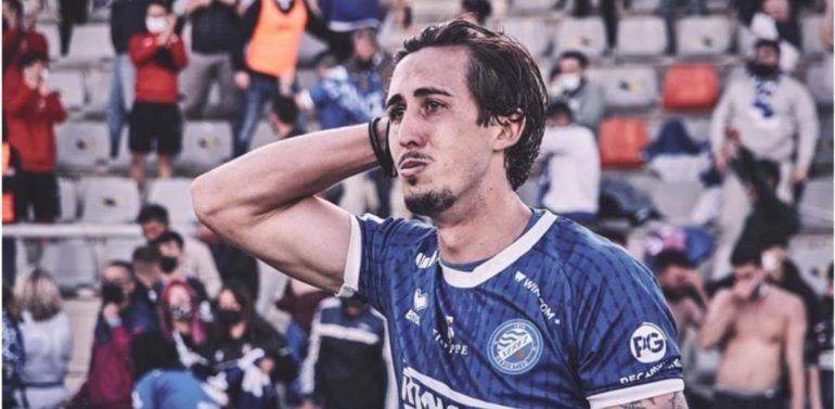 """Marcelo, lateral del Xerez DFC, emocionado en la celebración del ascenso: """"Tiene un mérito de locos"""""""