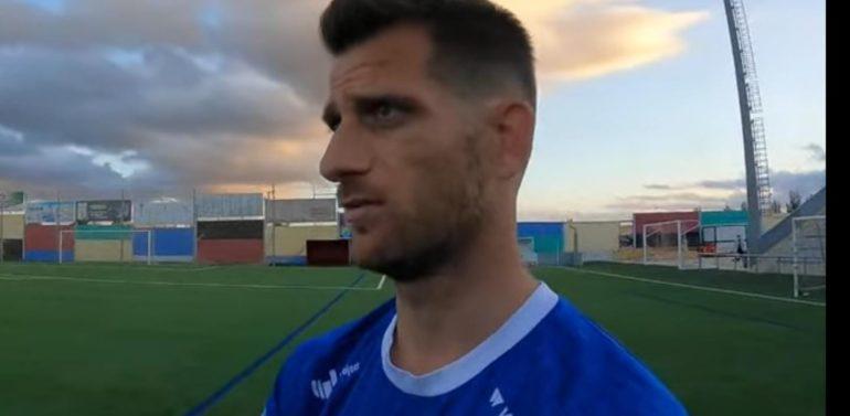 """Máyor, delantero del Xerez DFC, tras el ascenso: """"Me he demostrado a mí mismo que puedo seguir un año más jugando al fútbol"""""""