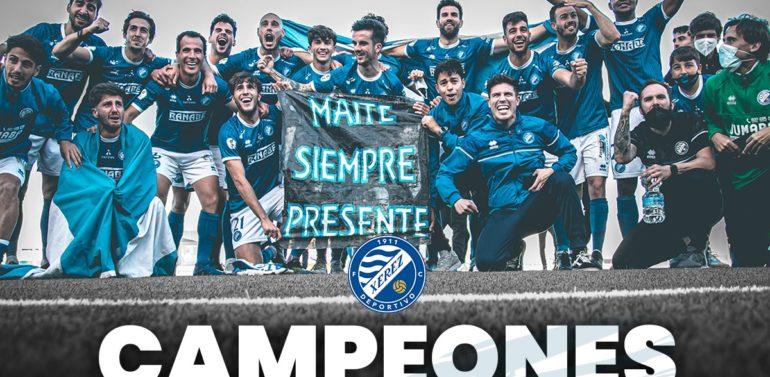 El Xerez Deportivo FC se proclama campeón absoluto del Grupo X de Tercera