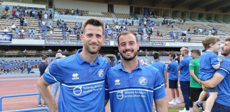 Máyor y Jacobo, jugadores del Xerez DFC, se llevan el 'MVP Xerezmanía' de la temporada
