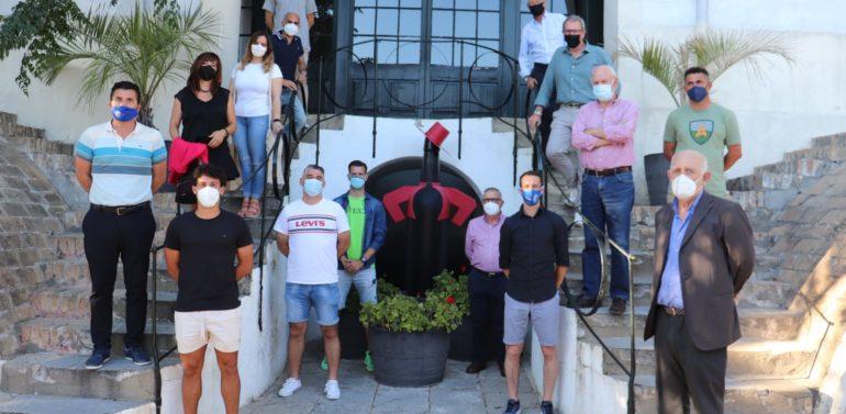 El Xerez DFC visita González Byass tras el ascenso