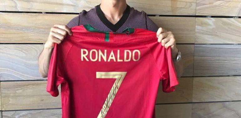 La subasta solidaria de Equality Golf Cup reúne a Cristiano Ronaldo, Messi, Llorente, Morientes, Rahm y muchos más deportistas para ayudar a 4 ONGs