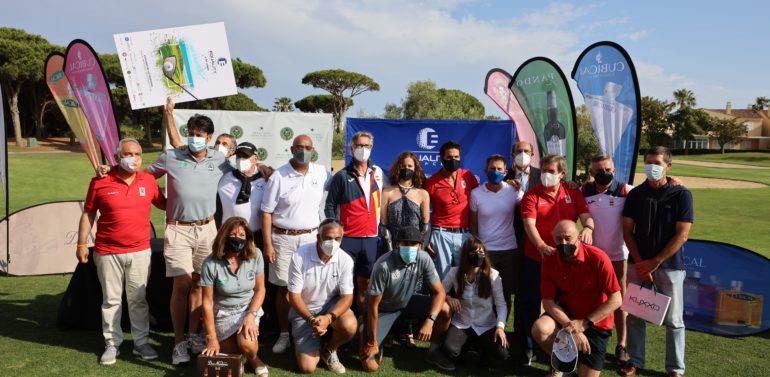 """El equipo ADACCA """"Los Gallos"""" vence en el torneo solidario Equality Golf Cup, que donó  9.175 € para cuatro ONGs"""