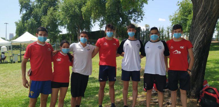 Excelente debut de los nadadores jerezanos en el I Campeonato de Aguas Abiertas de Andalucía