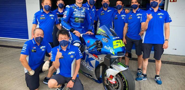 Suzuki prueba en el Circuito de Jerez