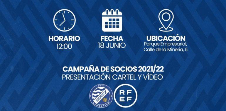 El Xerez DFC presentará la campaña de socios de la temporada 21/22 este viernes (12:00)
