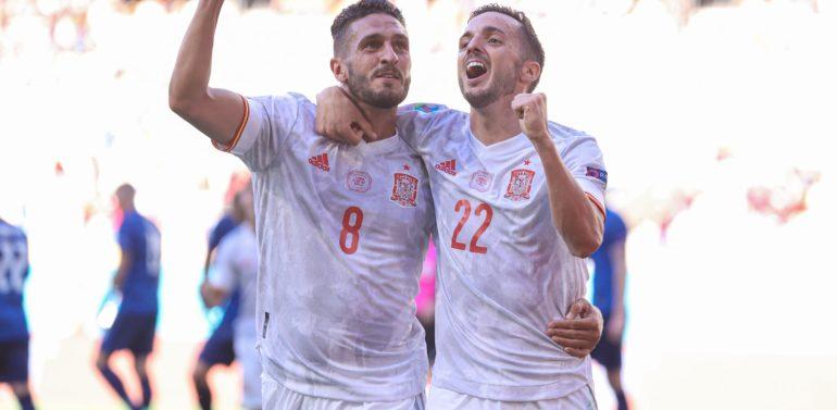 Eslovaquia 0-5 España: La Selección se despide de Sevilla con un festival de goles y el pase a Octavos