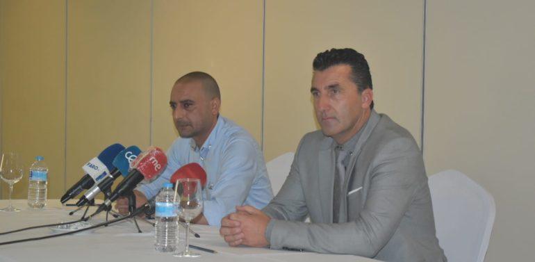 """La AD Ceuta presenta a Edu Villegas como Director Deportivo: """"Es un privilegio y un honor"""""""