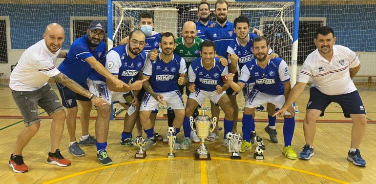 El Xerez DFC de futsal para sordos se proclama campeón de Andalucía