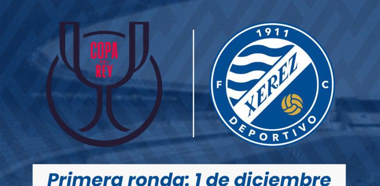 El Xerez Deportivo FC jugará su eliminatoria de Copa del Rey el 1 de diciembre