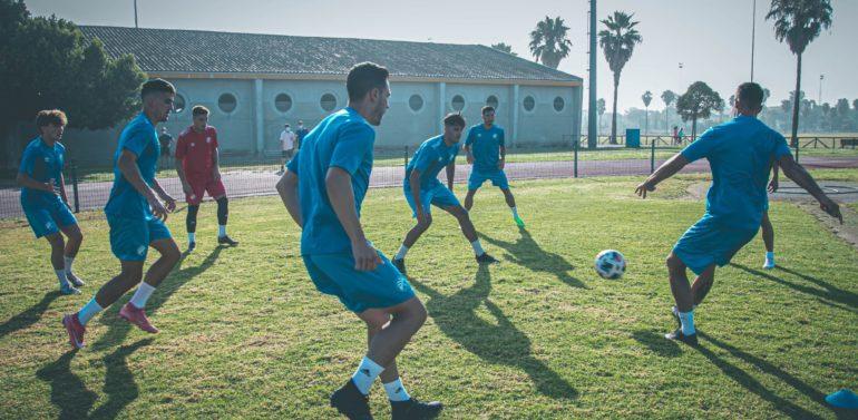 El Xerez DFC cierra su primera semana de entrenamientos
