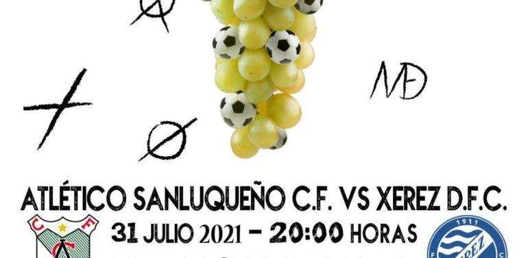 Las entradas del amistoso entre Atlético Sanluqueño y Xerez DFC en El Palmar ya tienen precio