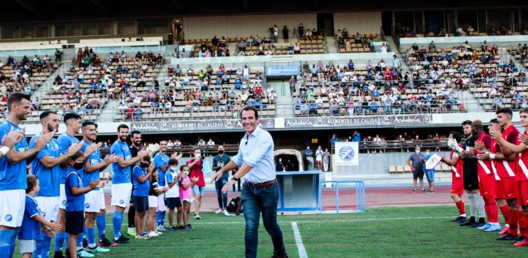 Bonito homenaje del Xerez DFC a Bruno Herrero