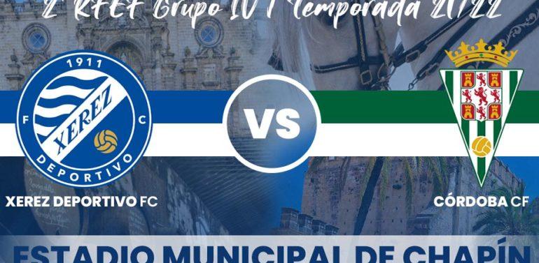 El Xerez Deportivo FC contará con un 40% del aforo de Chapín para recibir al Córdoba
