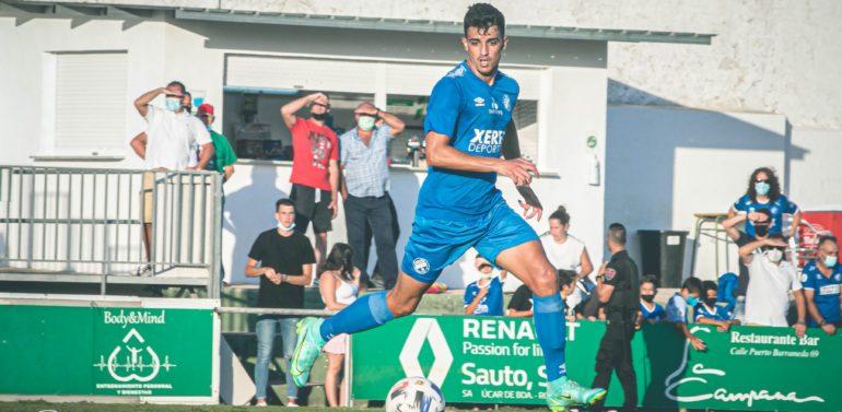Ocaña y Hugo, los jugadores con más minutos en el inicio de pretemporada del Xerez DFC