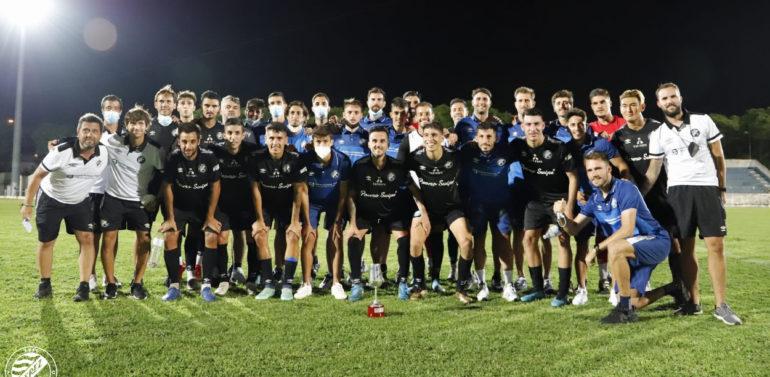 """Pérez Herrera y el Xerez DFC ya piensan en el Córdoba tras cerrar la pretemporada con """"sensaciones muy positivas"""""""