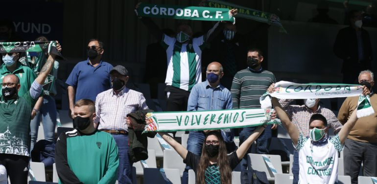El Xerez DFC envía 200 entradas al Córdoba y la afición blanquiverde demanda más