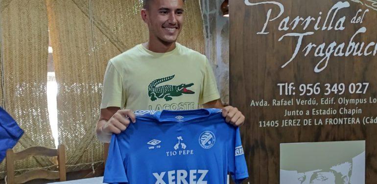 """El Xerez DFC presenta a Daviti: """"Yo quiero triunfar en casa"""""""