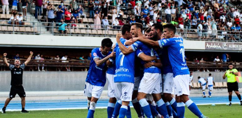 El Xerez Deportivo sale del descenso con sus primeros puntos, y Córdoba y Cacereño mantienen el pleno en la cabeza