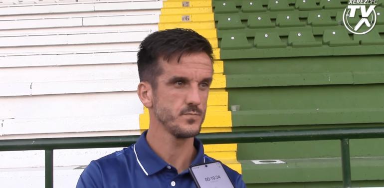 """Antonio Bello, capitán del Xerez Deportivo: """"No es el inicio que soñábamos pero vamos a sacar esto adelante"""""""
