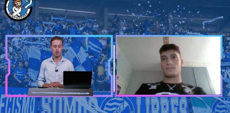 """Jaime Ramos, jugador del Xerez Toyota Nimauto, invitado especial en el Capítulo 3 de """"Tu Grada"""""""