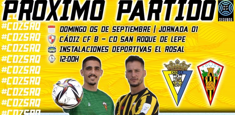El Cádiz prohíbe la entrada de afición visitante para el partido de su filial en Segunda RFEF