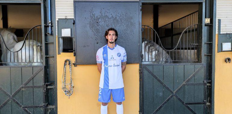 Marcelo Villaça, lateral del Xerez Deportivo, más cerca de volver
