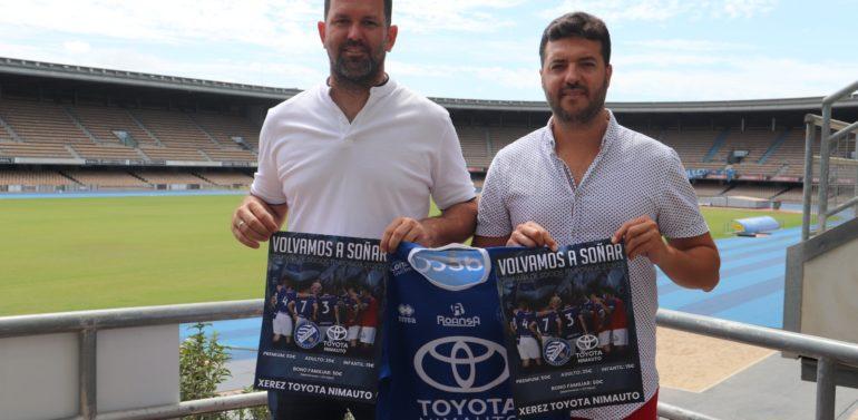"""El Xerez Toyota Nimauto presenta su campaña de socios: """"Sabemos que nuestra afición es la mejor de la categoría"""""""