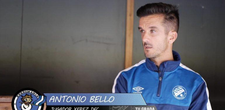 """Antonio Bello, capitán del Xerez Deportivo, en """"Tu Grada"""": """"No fuimos nosotros mismos"""""""
