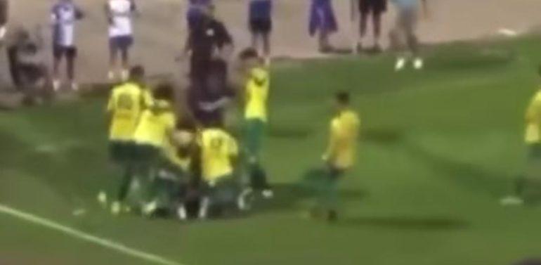 La UD Los Barrios denunciará los lamentables hechos acontecidos en el Estadio Pedro Garrido que el colegiado recogió en su acta