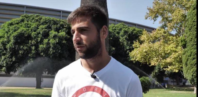 """Antonio Jesús, jugador del Xerez Deportivo FC, protagonista del Capítulo 4 de """"Tu Grada"""""""