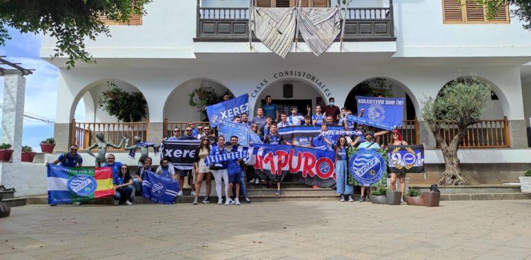 Xerezmanía, único medio de comunicación desplazado a Gran Canaria para cubrir al Xerez Deportivo FC