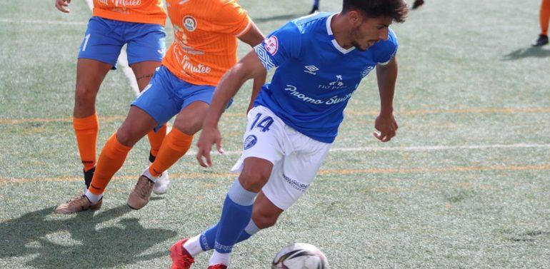 """Javilillo, jugador del Xerez Deportivo FC, tras ganar en San Mateo: """"Tenemos que tener los pies en el suelo"""""""