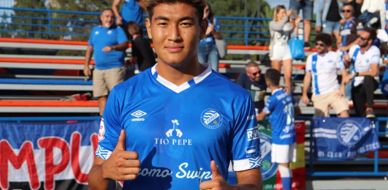 """Rifat debuta con el primer equipo del Xerez Deportivo FC: """"Estoy muy contento"""""""